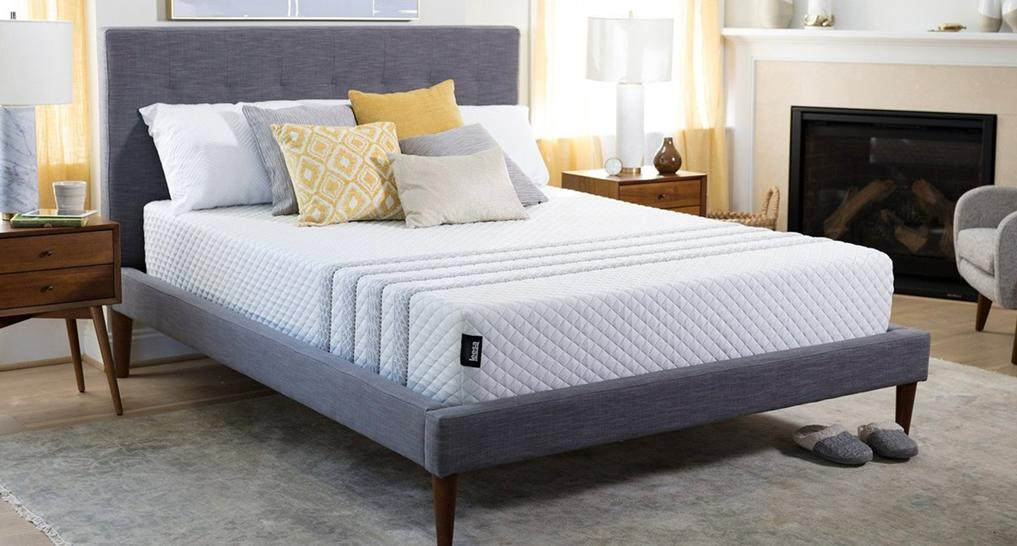 leesa mattress trial in new york city showroom