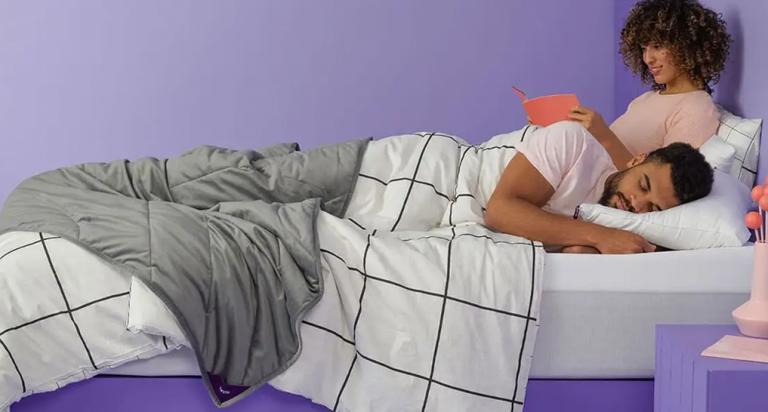 purple mattress couple new york