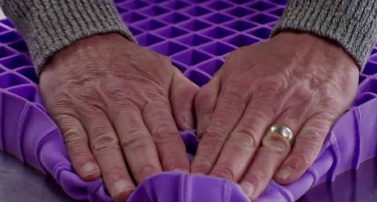 purple mattress test nyc