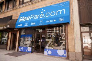 SleePare Leesa Mattress Store in NYC