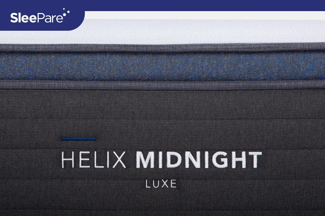 Image of Helix midnight luxe mattress