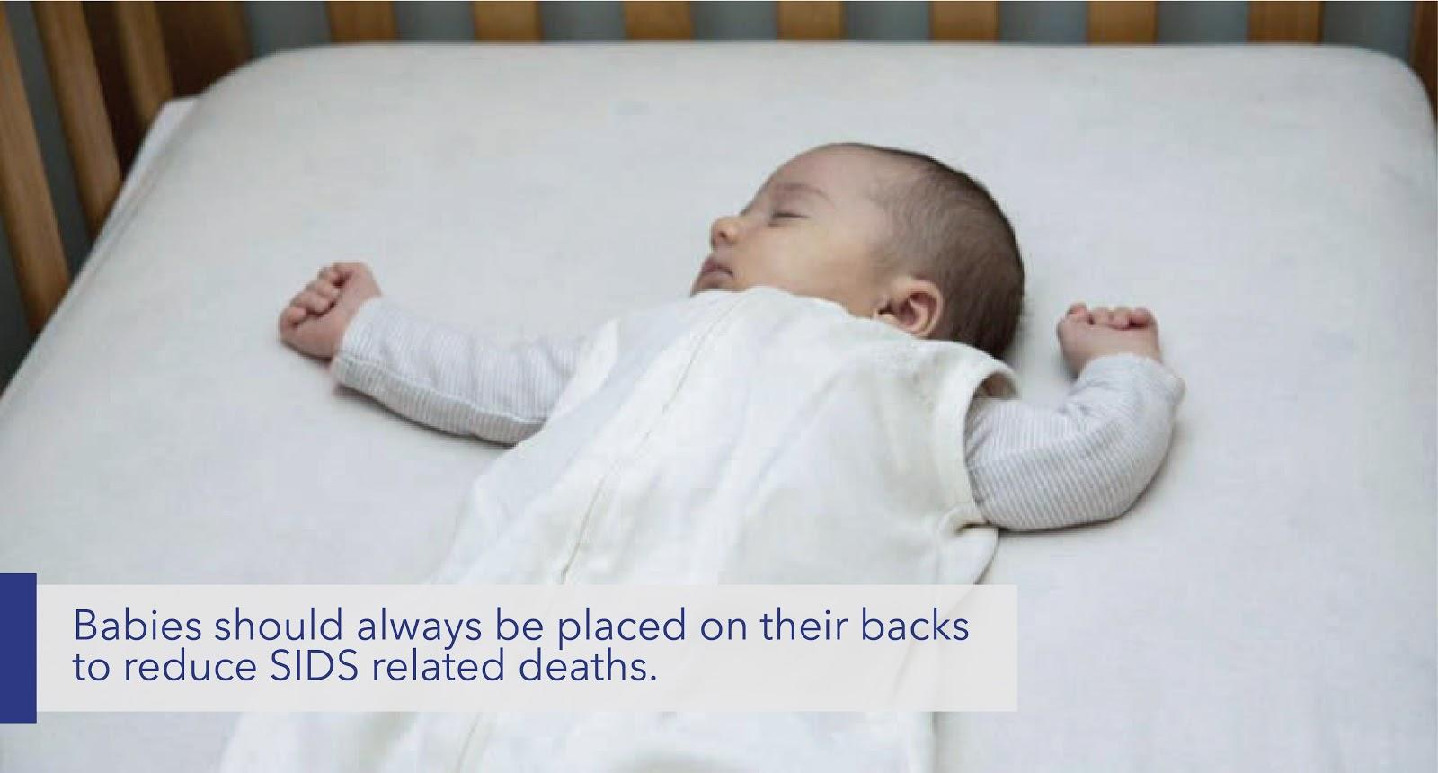 Baby lying on Back