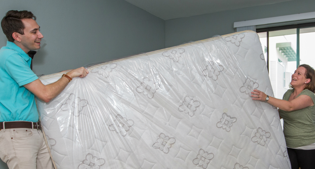moving a mattress