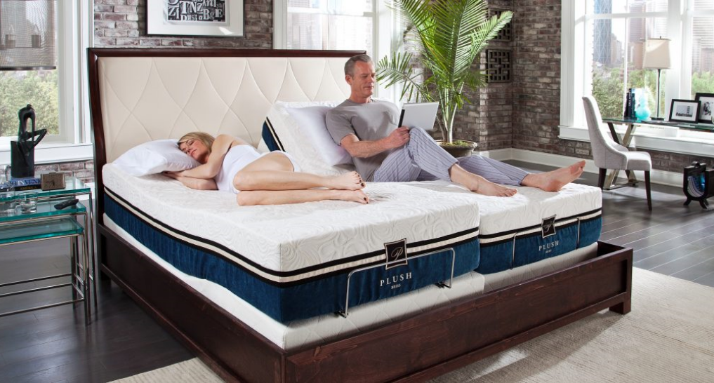 a split king mattress