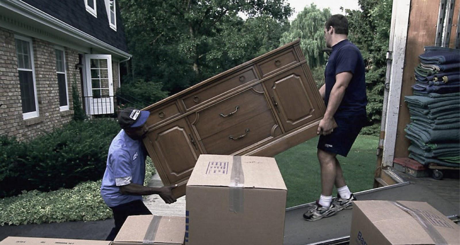 men moving furniture