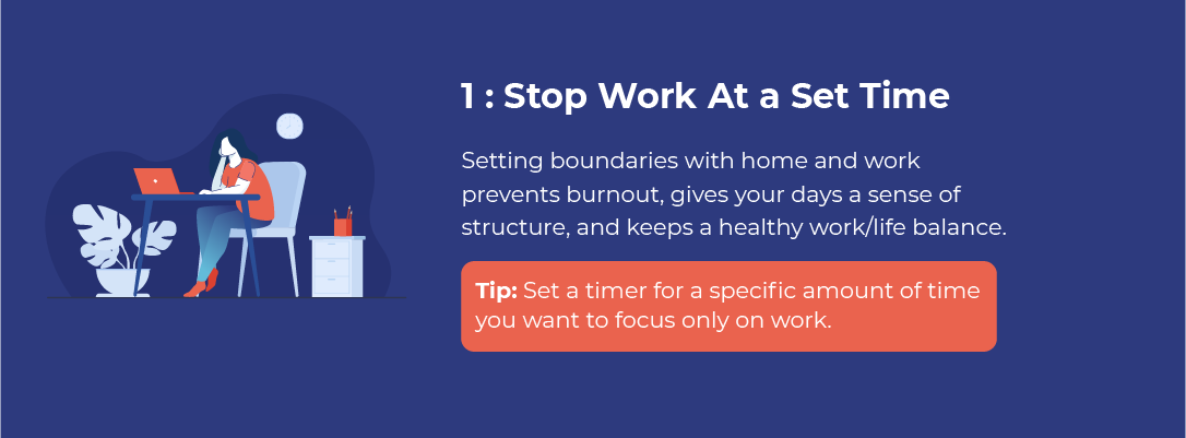 Stop Working At a Set Time