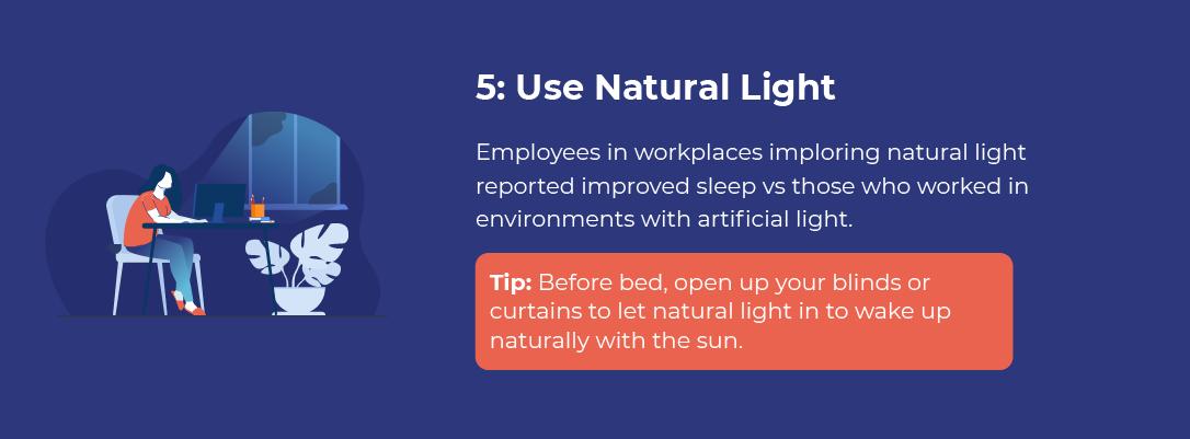 Use Natural Light