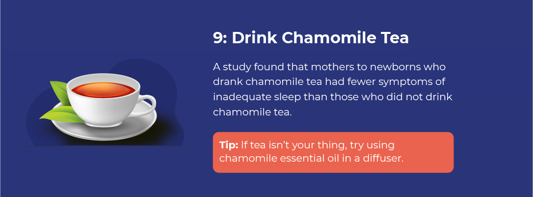 Drink Chamomile Tea