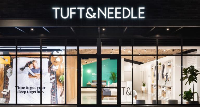 Tuft and needle mattress store in Miami Florida